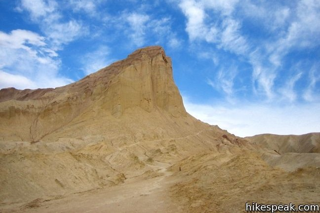 This 4-mile loop visits some of the most stunning terrain in Death Valley National Park.