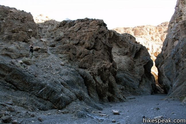 Grotto Canyon in Death Valley National Park