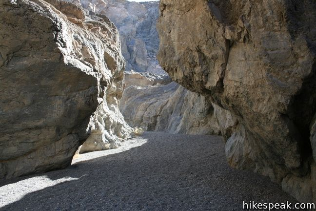 This 2 to 4-mile hike requires a bit of climbing and is a lesser-visited trail in Death Valley National Park.