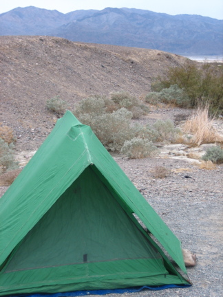 Texas Spring Campground Death Valley Camping
