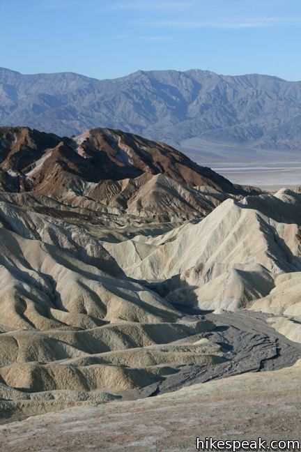 Zabriskie Point Death Valley Hikespeak Com