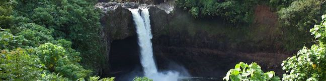 Rainbow Falls Lookout Hike Wailuku River State Park Hilo Big Island Hawaii