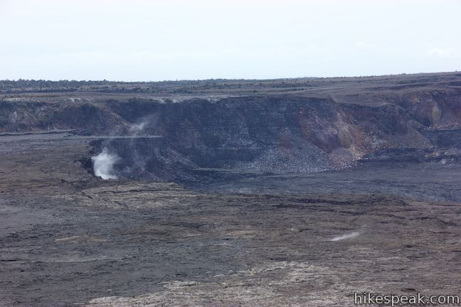 Halemaumau Crater Hawaii Volcanoes National Park