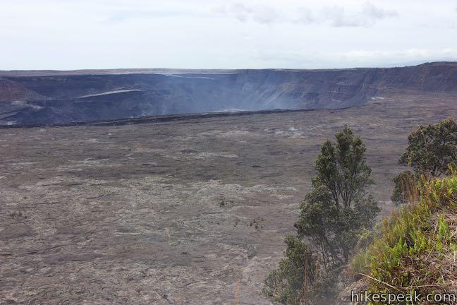 Steaming Bluff Kilauea Caldera