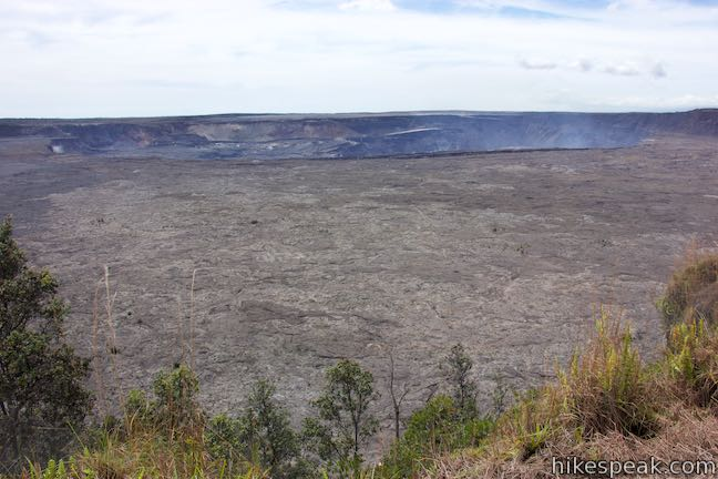 Kilauea Caldera Hawaii Volcanoes National Park