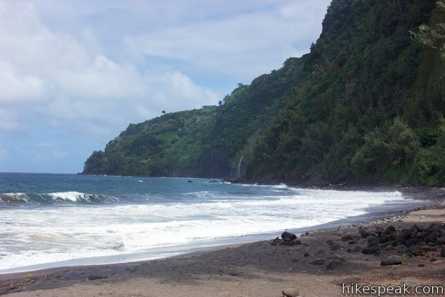 Waipio Beach Hawaii