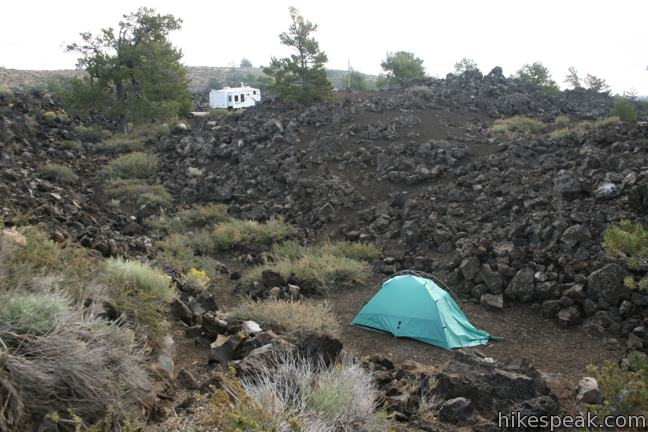 Lava Flow Campground Craters of the Moon