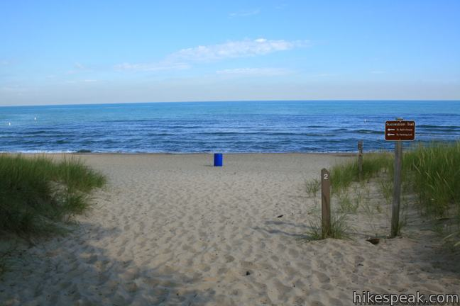 Indiana Dunes National Lakeshore Dune Succession Trail