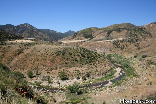 Sespe Creek to Willett Hot Springs in Los Padres National Forest