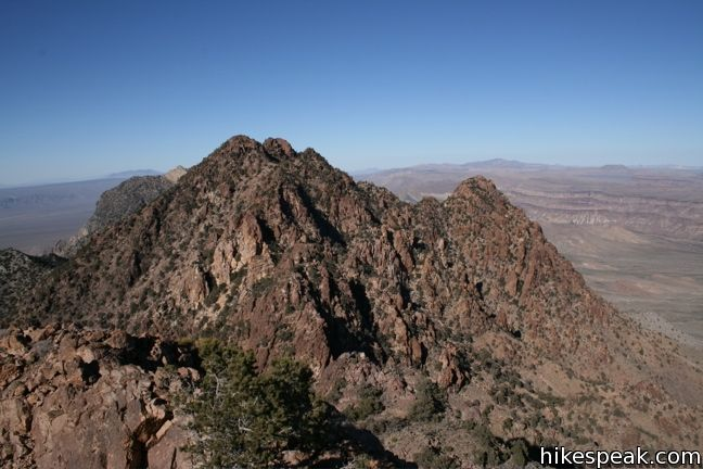 Fountain Peak in Mojave National Preserve