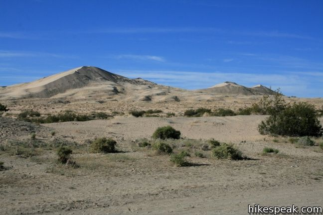 This 3-mile hike climbs to the highest point in the 45 square mile dune field within Mojave National Preserve.