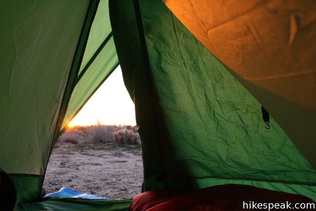 Camping in Mojave National Preserve