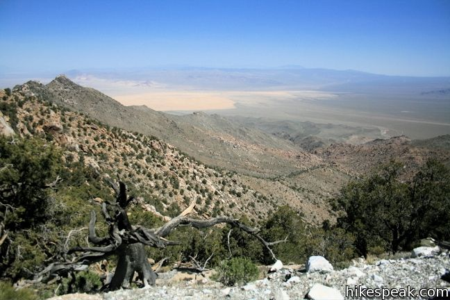 Silver Peak in Mojave National Preserve