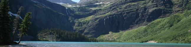 Grinnell Lake Trail Many Glacier Hotel Lake Josephine Swiftcurrent Lake hike Glacier National Park Montana