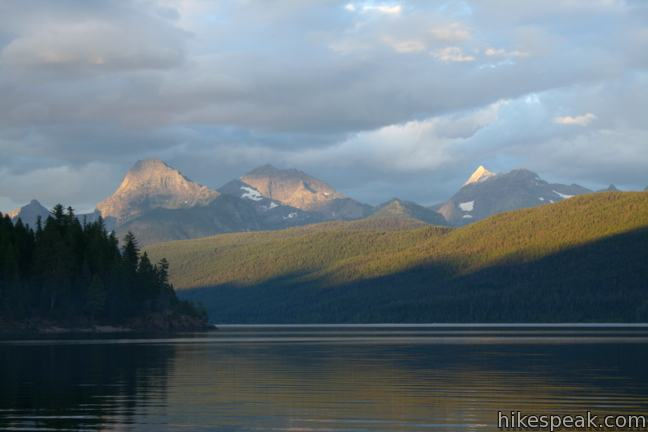 Camping in Glacier National Park