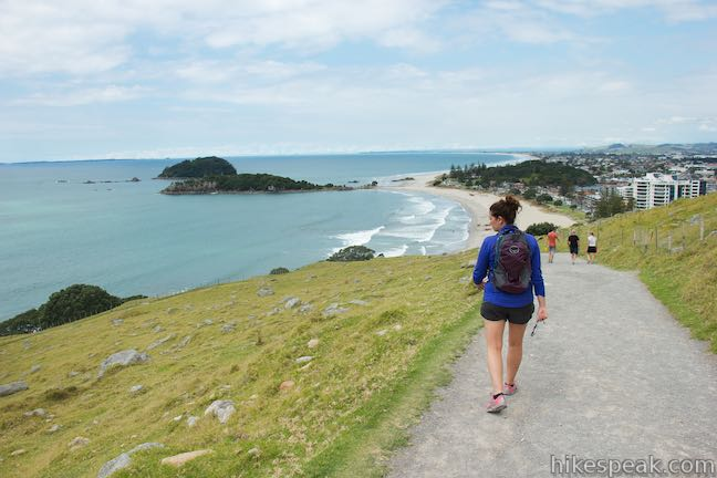Oruahine Track and Mount Maunganui Beach