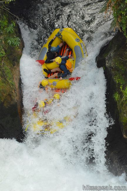 Tutea Falls Whitewater Rafting