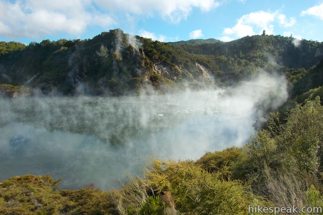 Waimangu Volcanic Valley Frying Pan Lake