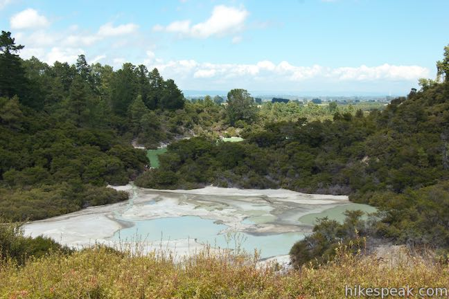 Wai-O-Tapu Thermal Wonderland Panoramic View