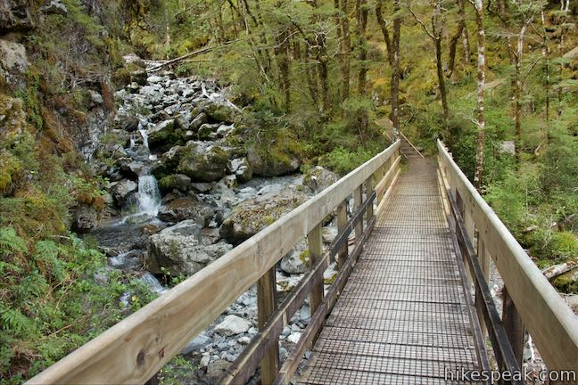 Bridal Veil Creek Footbridge