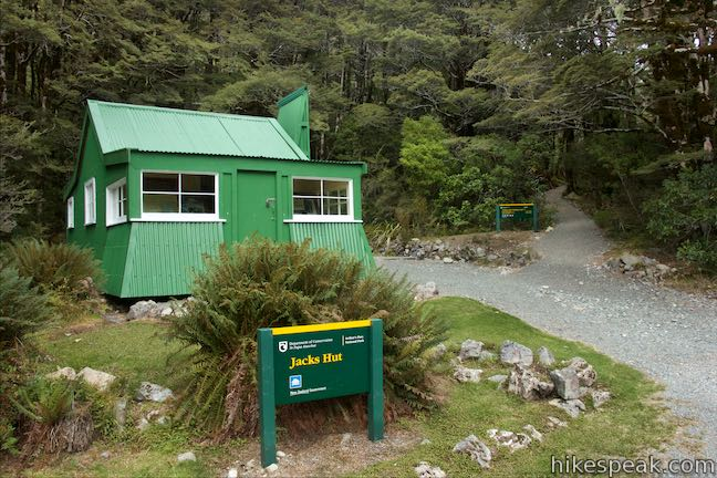 Jacks Hut Arthur's Pass Walking Track
