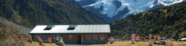 White Horse Hill Campground Aoraki Mount Cook National Park Campsite New Zealand