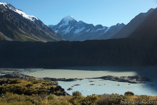 Mount Cook Mueller Lake