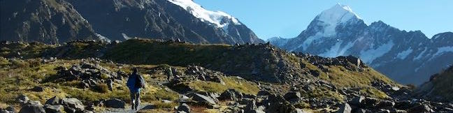 Kea Point Track Aoraki Mount Cook National Park Viewpoint Southern Alps Hike New Zealand Walk