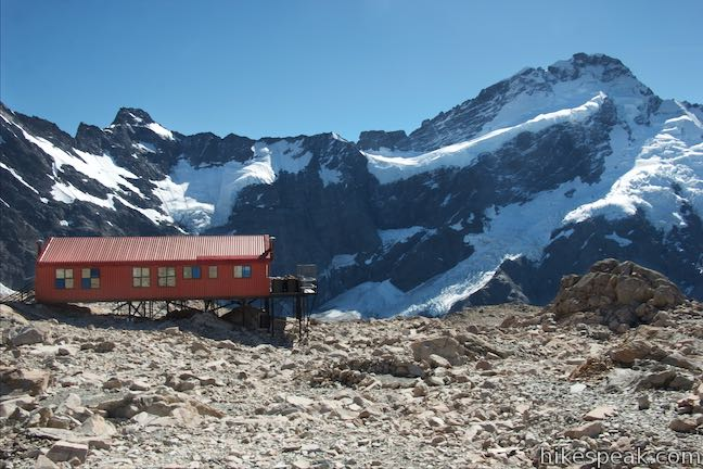 Mount Sefton Mueller Hut