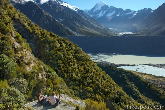 Mount Cook National Park Sealy Tarns Track