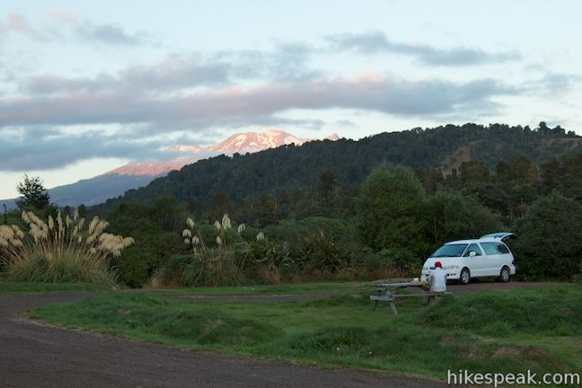 Mangawhero Campground Tongariro National Park