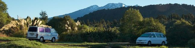 Mangawhero Campground Tongariro National Park Campsite Ohakune New Zealand