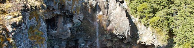 Mangawhero Falls Walking Track Tongariro National Park Hike Ohakune New Zealand