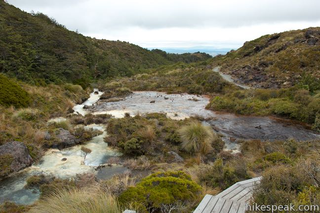 Silica Rapids Tongariro National Park