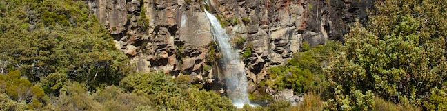 Taranaki Falls Track Loop Hike Tongariro National Park Waterfall Walk New Zealand