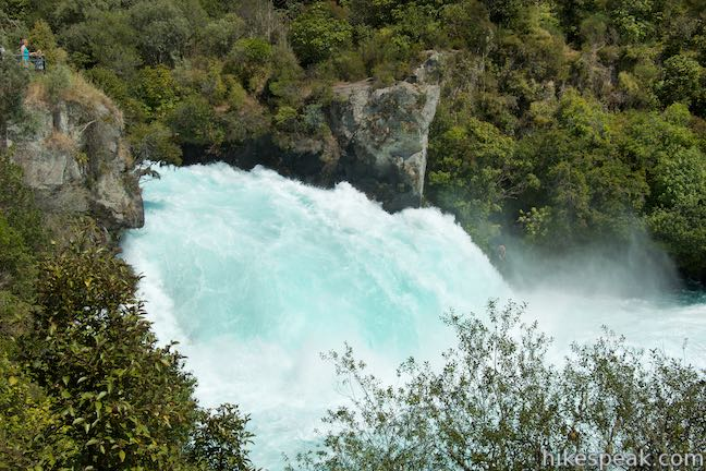Huka Falls Rapids Taupo New Zealand