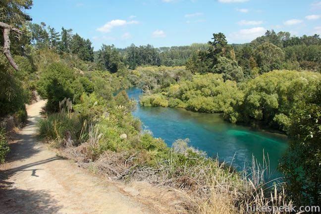 Spa Park - Huka Falls Walkway Taupo New Zealand