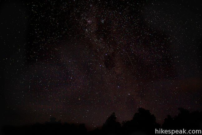 Stargazing near Whakaipo Lodge