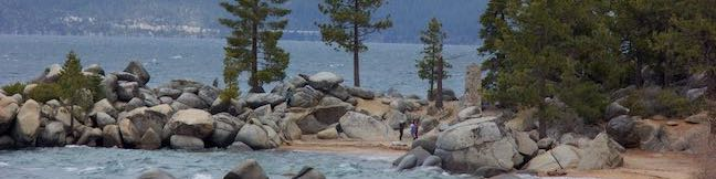Chimney Beach Trail Lake Tahoe Nevada Chimney Beach Hike Humboldt-Toiyabe National Forest