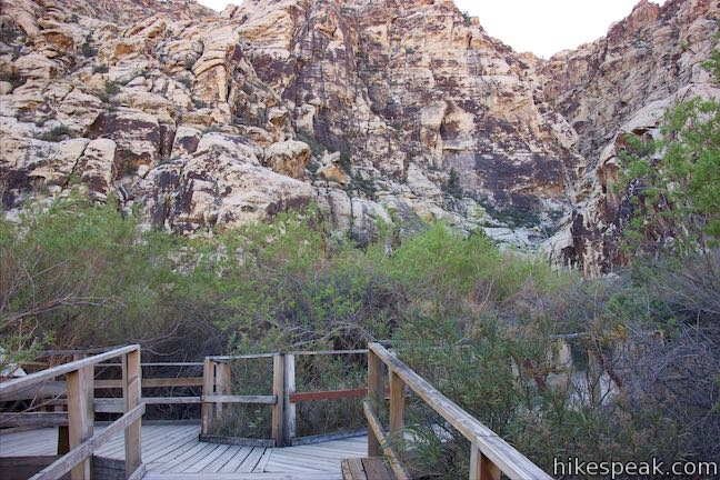 Lost Creek Canyon Trail Boardwalk