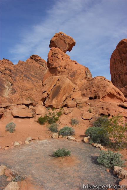 Balancing Rock Trail Valley of Fire