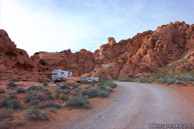 Valley Of Fire State Park Campgrounds Hikespeak Com