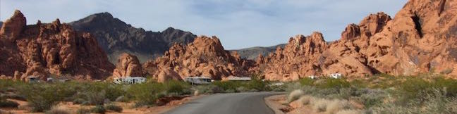 Valley of Fire State Park Campgrounds Camping Atlatl Rock Campground and Arch Rock Campground Valley of Fire Nevada