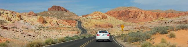 Scenic Roads Valley of Fire State Park Nevada Picturesque Drives White Domes Road Valley of Fire Highway Scenic Loop Road