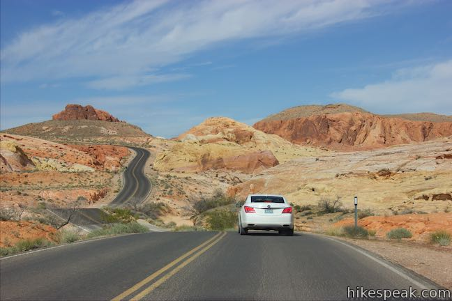 Scenic Roads Valley Of Fire State Park Hikespeakcom