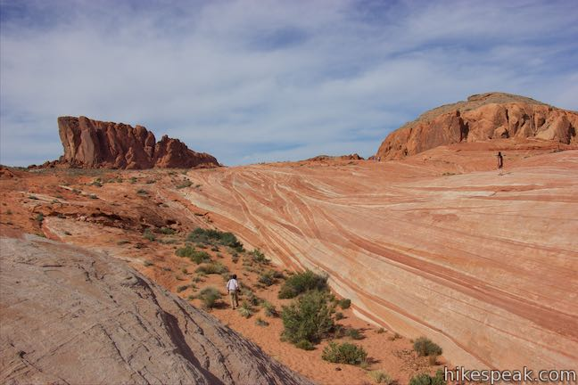 Valley of Fire Wave Hike