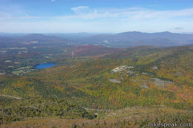 Cascade Mountain Lake Placid View