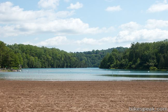 Green Lake State Park Beach