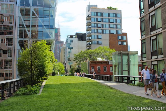 High Line Trail 23rd Street Lawn
