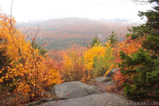 Sawyer Mountain Trail View Adirondacks
